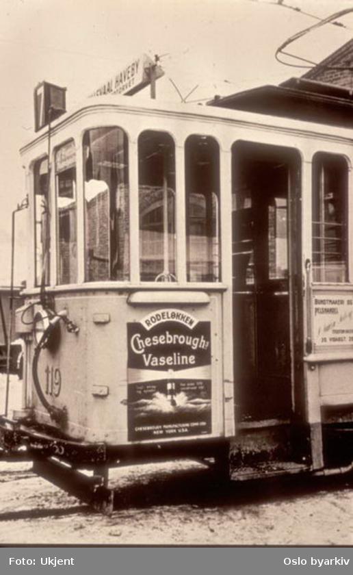 Vaseline, poster, oslo tram