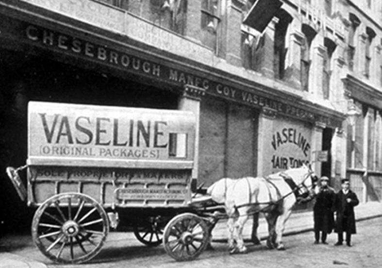 Vaseline, Chesebrough, New York