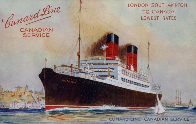 Cunard Line Canadian Service