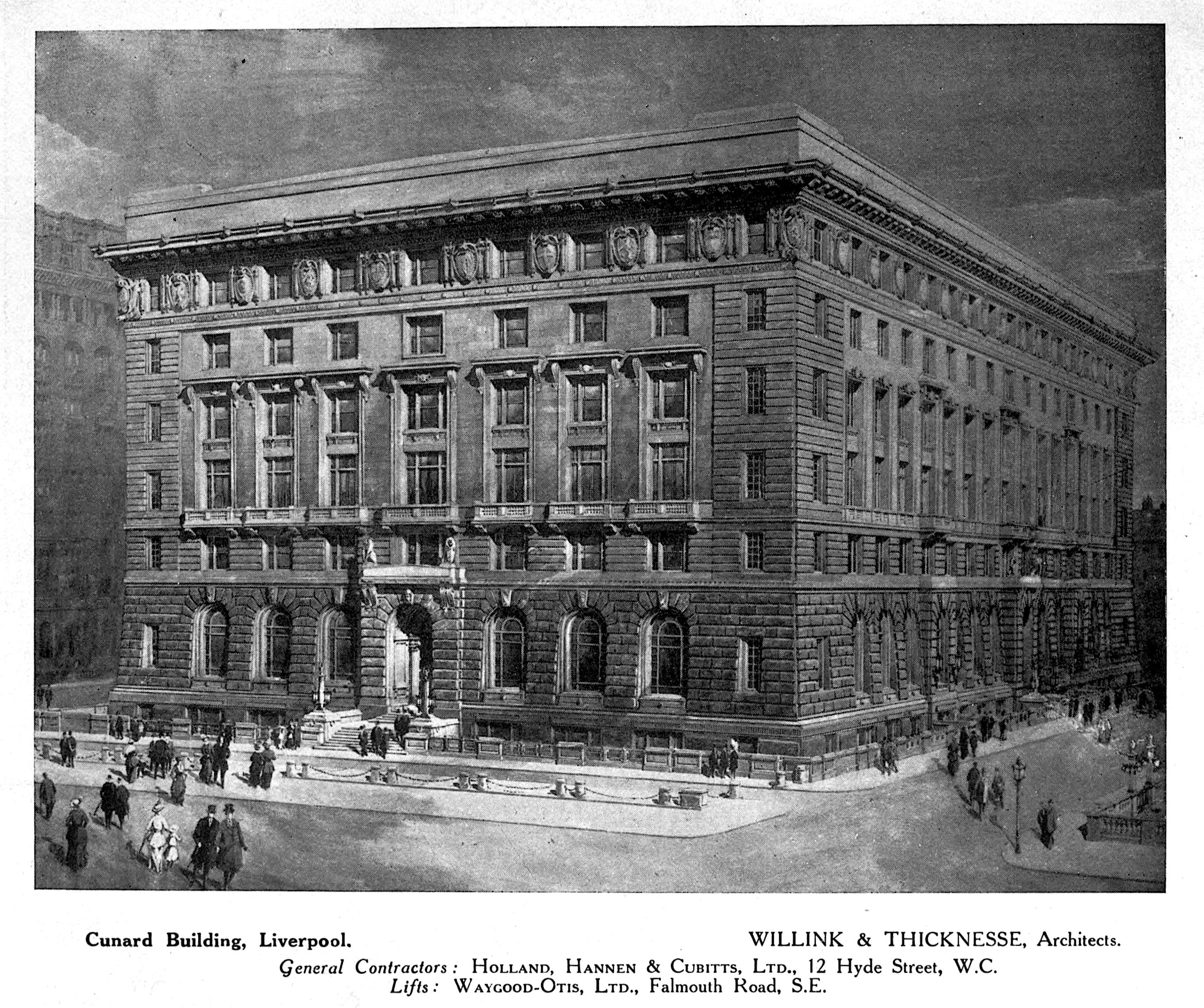 Cunard Building Liverpool