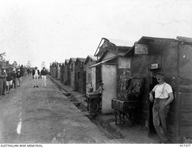 Holsworthy (Liverpool) Camp, WW1