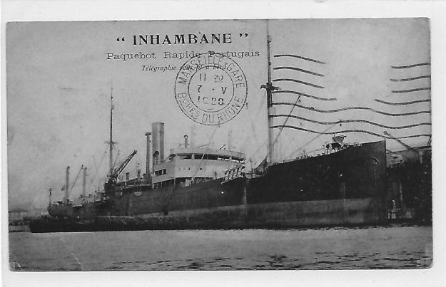 Inhambané, exEssen, about 1920