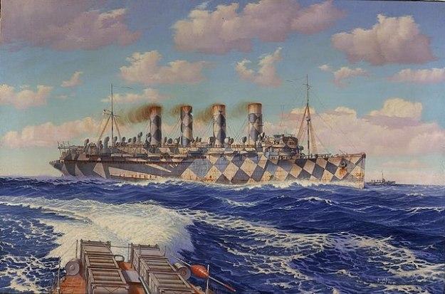 RMS Mauretania WW1