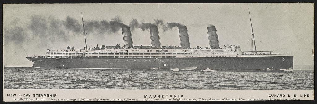 Mauretania 1908
