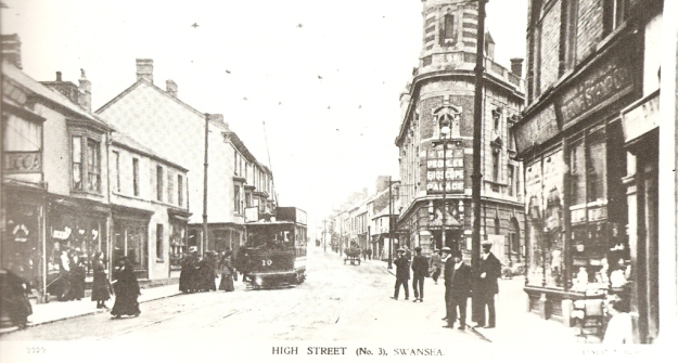 Swansea High Street about 1915