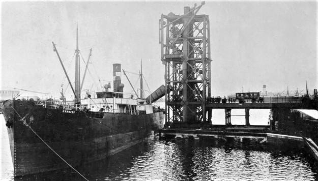 Swansea Docks um 1910