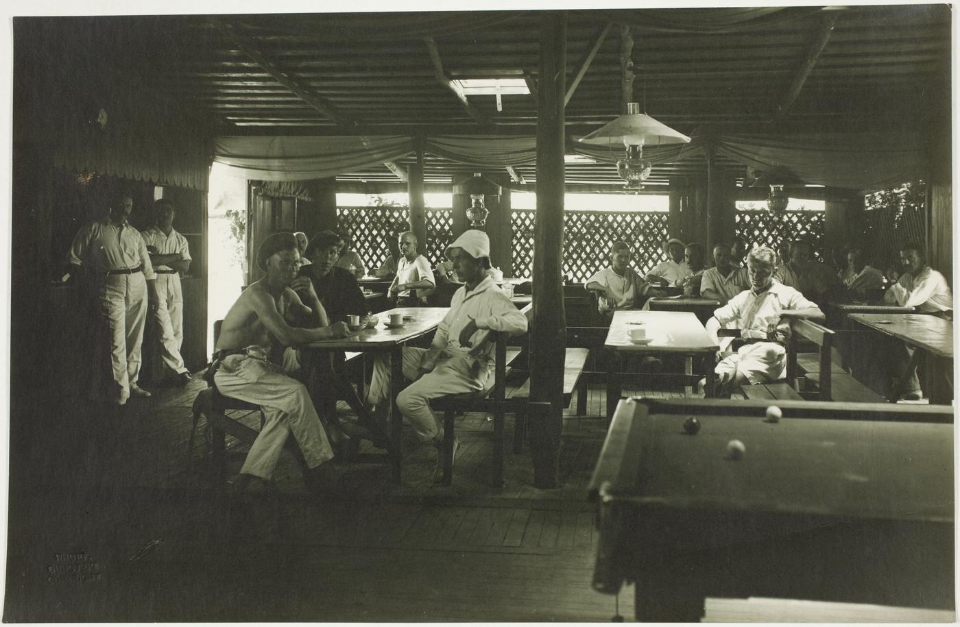 Trial Bay, WW1, Deutsches Lager