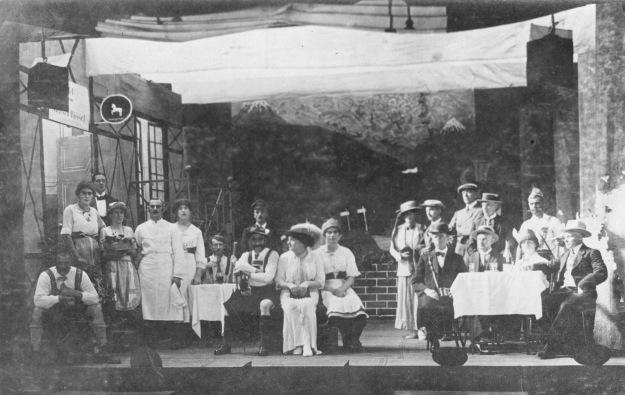Im weißen Rössel, Aufführung um 1916