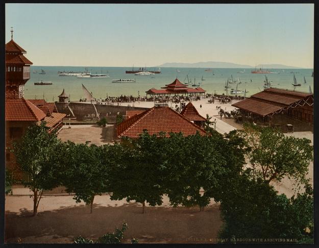 Bombay harbour 1890