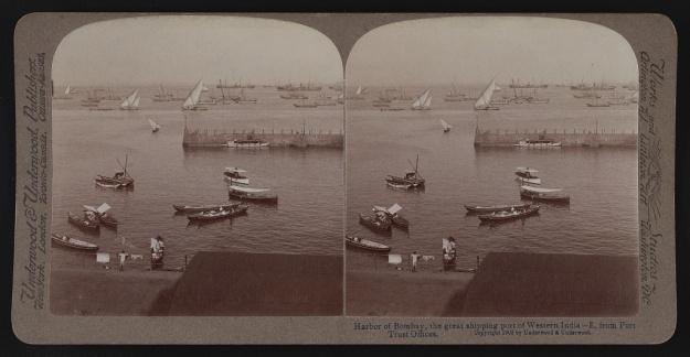 Bombay harbour 1903