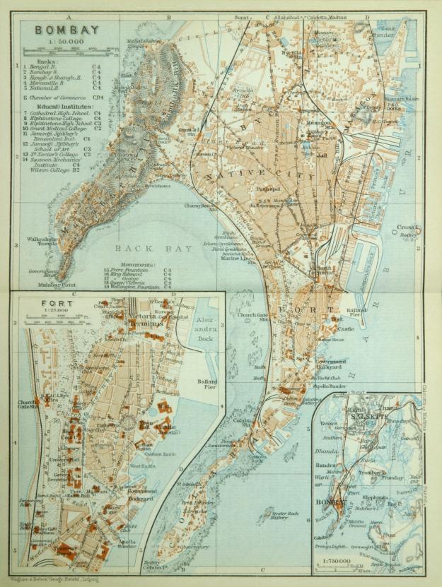 Bombay map