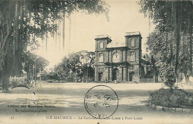 Port Louis cathedral 1912